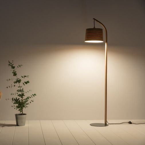 Buy tom raffield mullion grey base floor lamp from our floor lamps range at john lewis