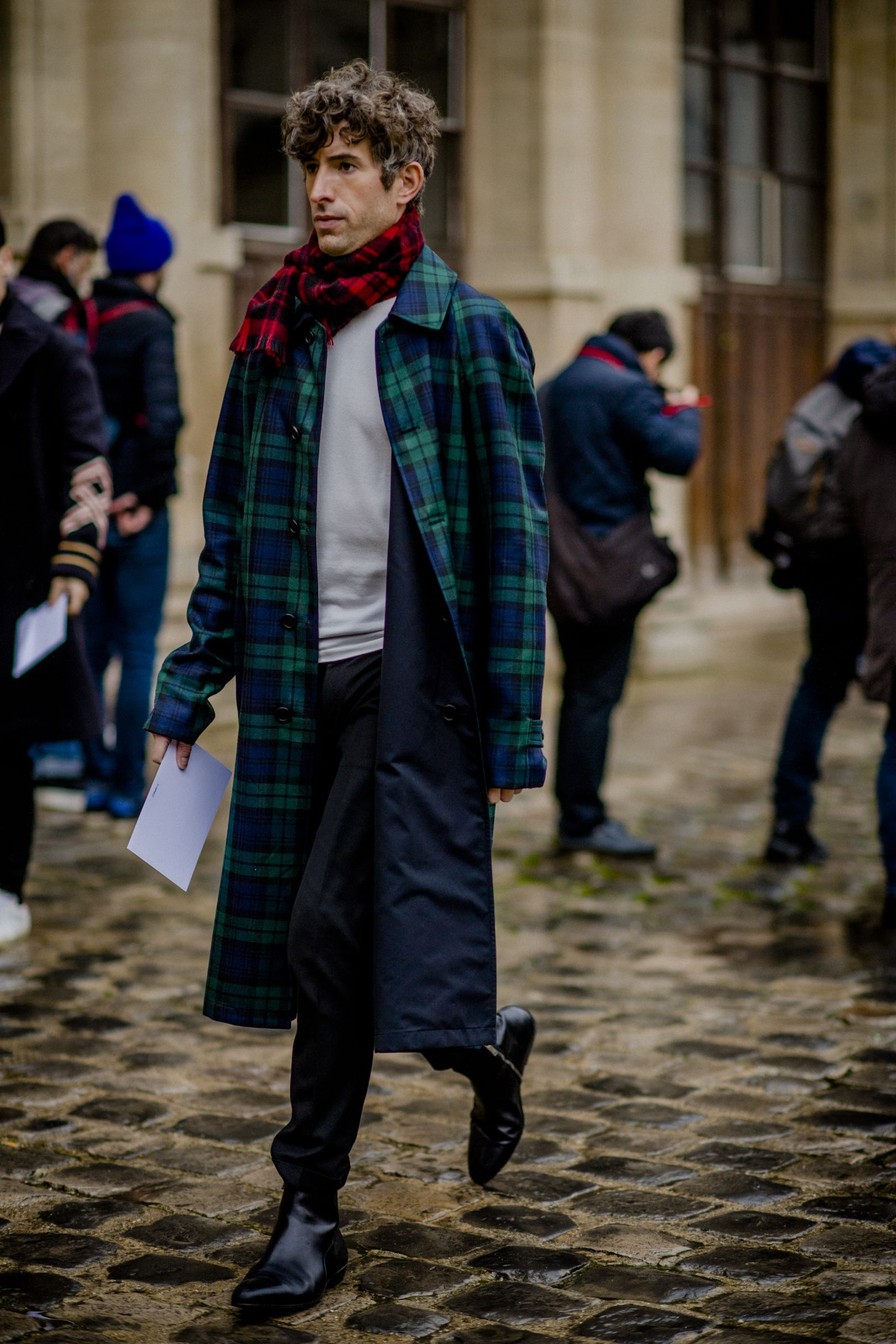 The Best Street Style From Paris Fashion Week Men 39 S Aw18