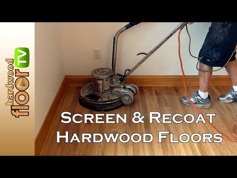 Hardwood Floor Refinishing Buffing Between Coats Of Finish Youtube Refinishing Floors Hardwood Floor Buffer Hardwood Floors