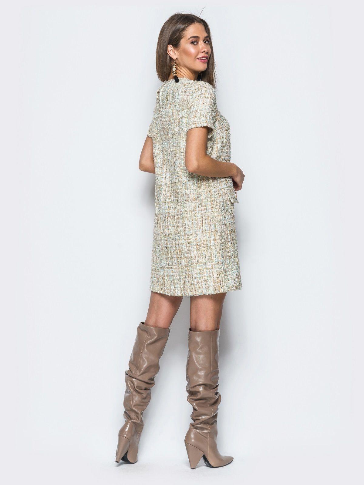 b3703bd43ba Купить платье из ткани букле недорого в интернет-магазине Платьице с  доставкой по Киеву и Украине