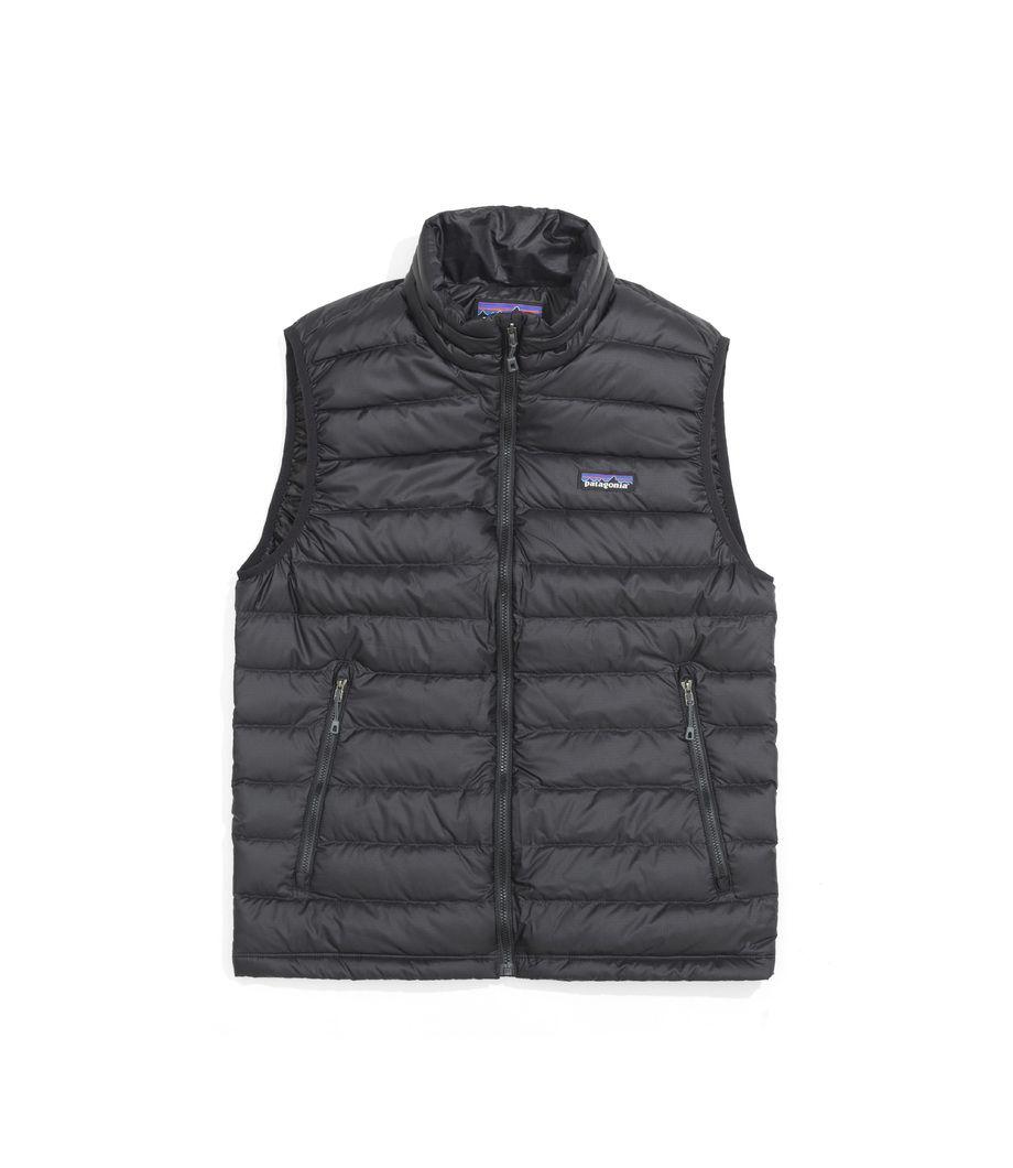 Buy the Patagonia Patagonia Men's Down Sweater Vest Black from ...