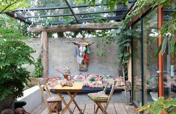 Veranda Selber Bauen terrassengestaltung bilder veranda selber bauen holzdielen