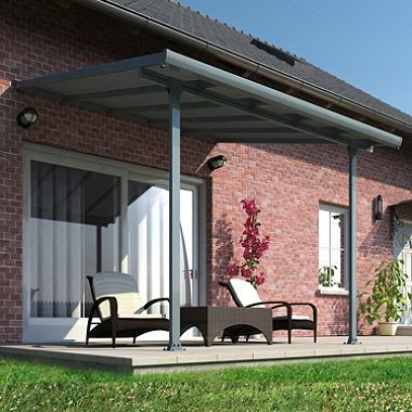 Palram Feria Gray Patio Cover Various Lengths Sam S Club