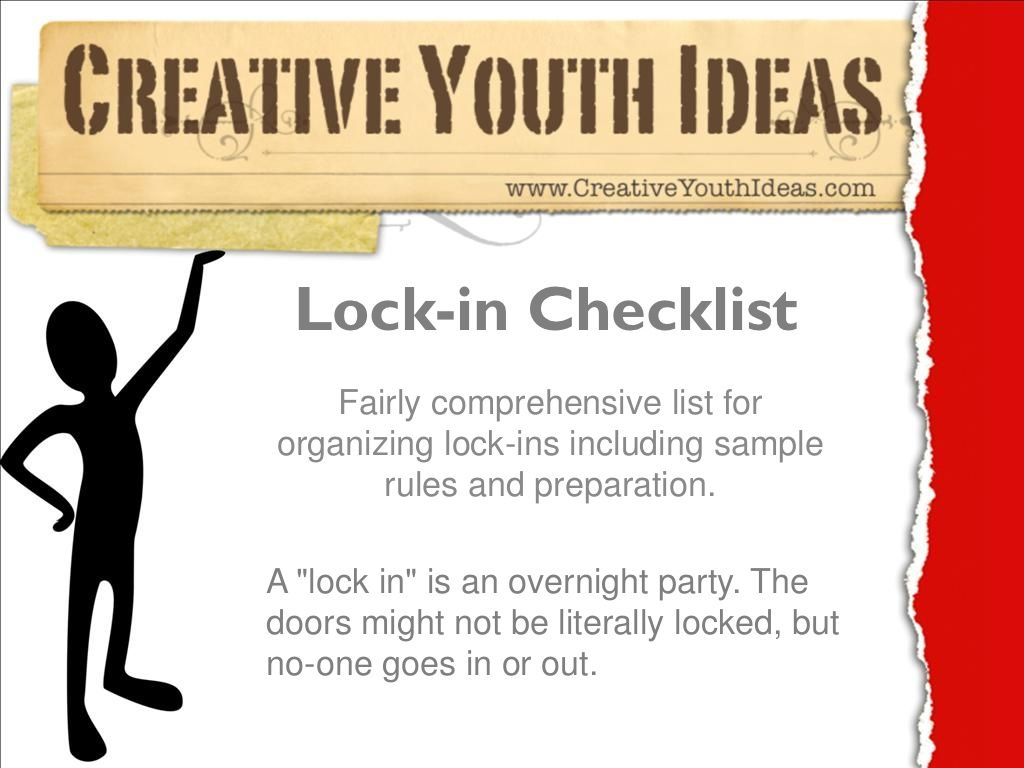 Youth Ministry Ideas