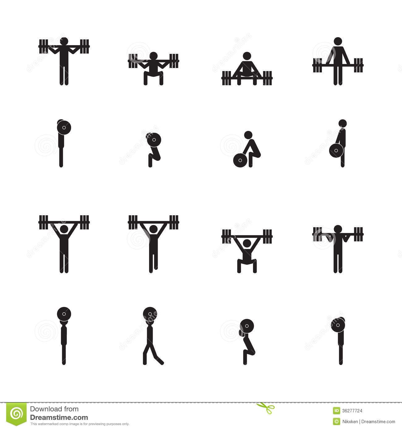 Svg Olympic Lifts