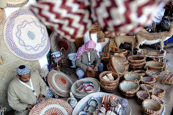 Saudi Exhibitors Show Their Skills During The Janadriyah Festival Of Heritage And Culture Held In The Saudi Village Of Althamama 50 Kil Festival Photo Pictures