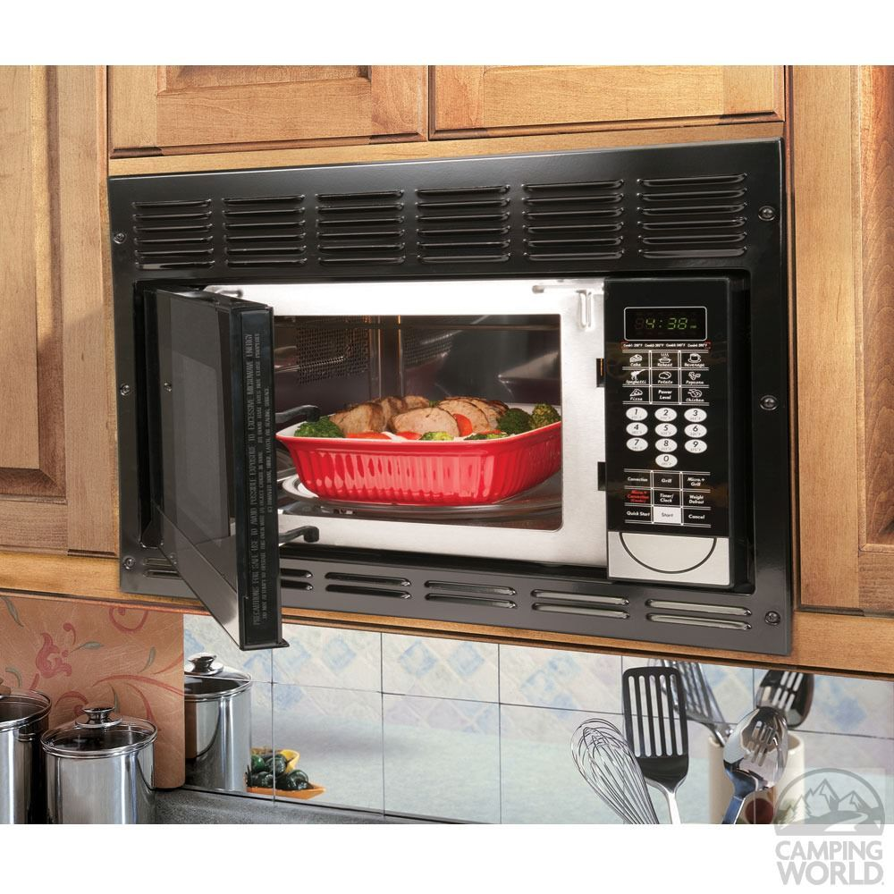 Dometic Convection Microwave With Black Trim Kit Dcmc11b F Microwaves Camping