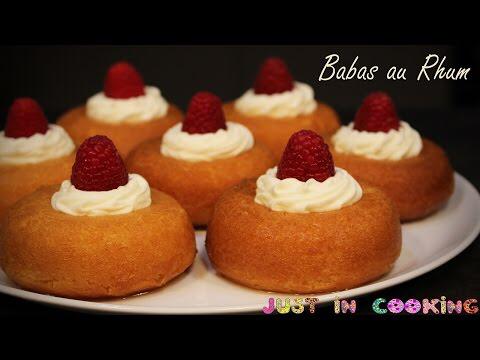 Recette de Baba au Rhum - YouTube #babaaurhumrecette