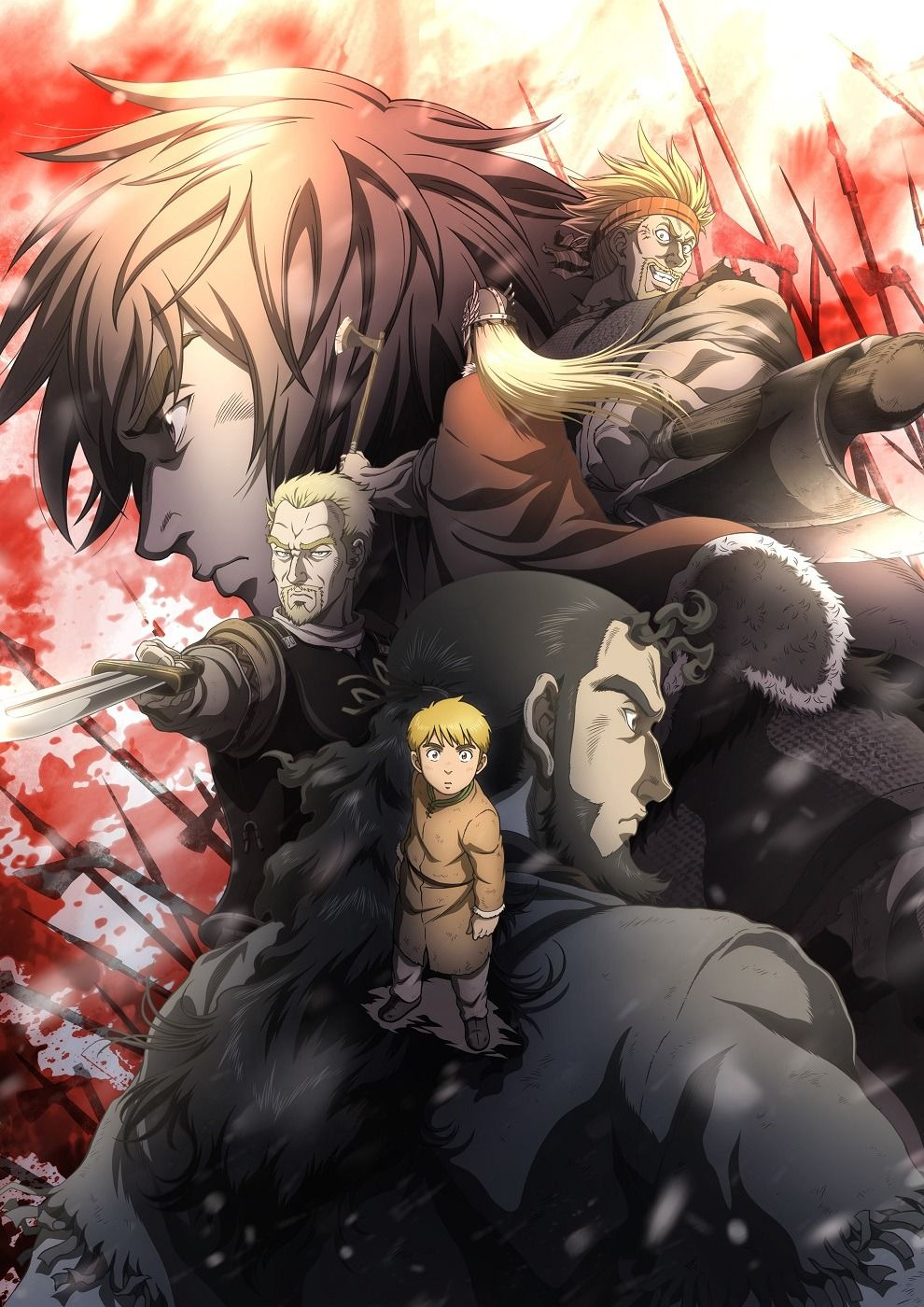 Vinland in 2020 Vinland saga, Anime, Vinland saga manga