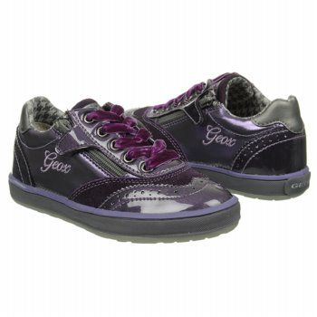 GEOX Jr Witty Pre Shoes (Violet/Grey) - Kids' Shoes - 29.0 M