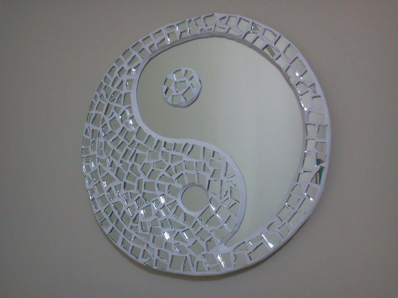 Cre A rtE: Espejo Yin Yang | Espejos | Pinterest | Mosaicos, Espejo ...