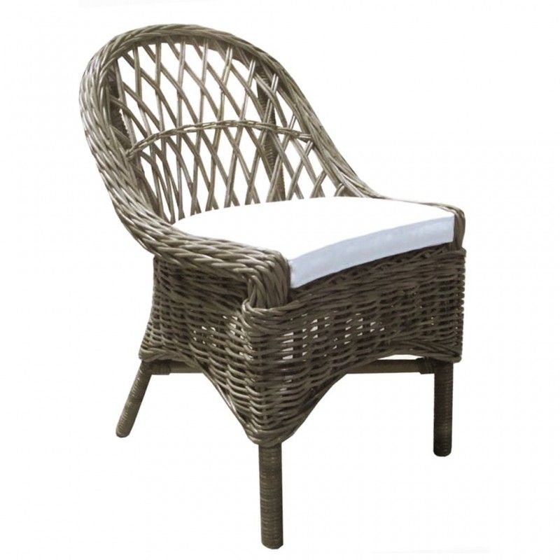 Kubu Cross Weave Dining Chair Set Of 2 With Images Woven Dining Chairs Dining Chairs Chair Set