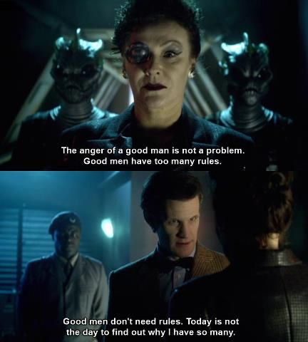 Image result for dr who anger of good man