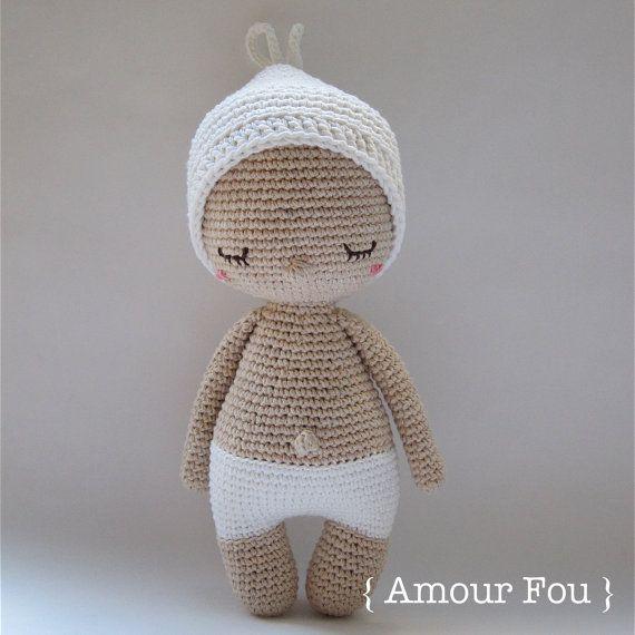 Hoki - Crochet Pattern by {Amour Fou} | Amigurumis | Pinterest ...