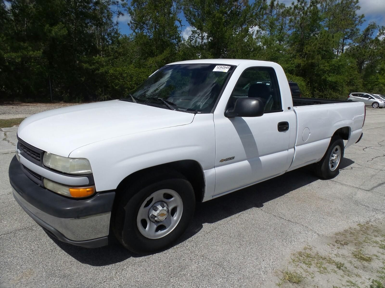 Clean Work Truck 2000 Chevrolet Silverado 1500 Pickup Work Truck