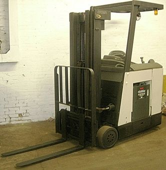 Used crown narrow aisle forklift used lift equipment pinterest used crown narrow aisle forklift fandeluxe Images