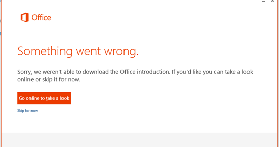 Microsoft Office Error