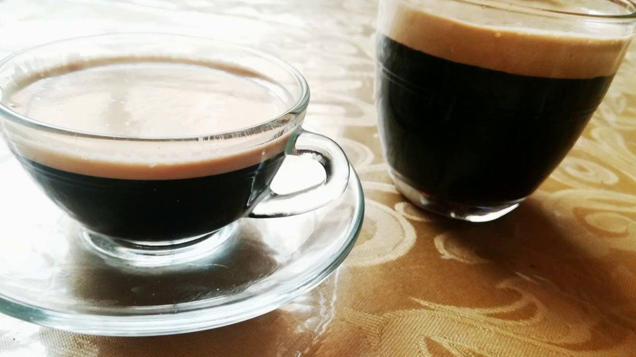 كيفية تحضير القهوة على طريقة المقاهي في المنزل How To Make Espresso Coffee At Home Arabic Tableware Glassware