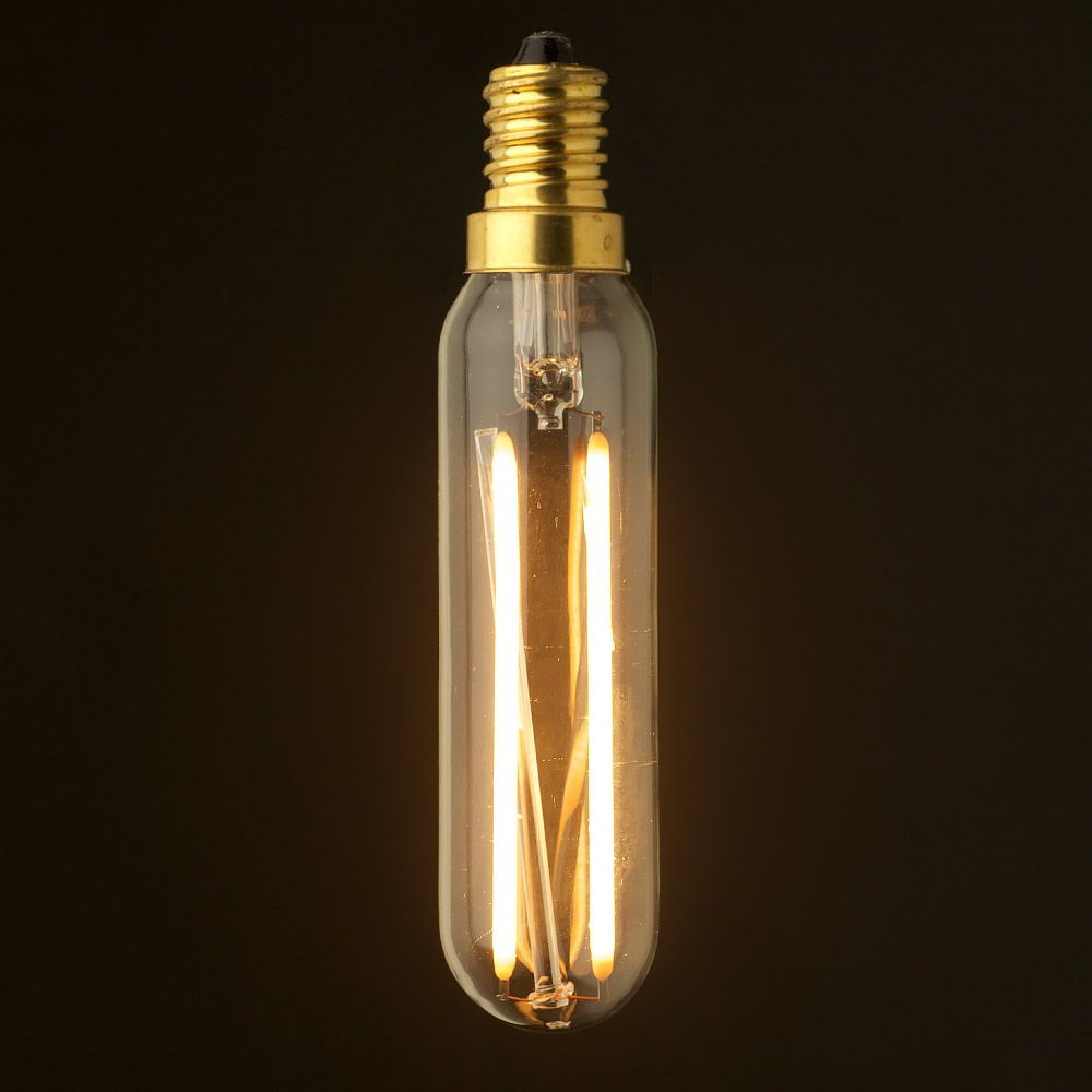 3 Watt Dimmable Filament Led E14 Tube Bulb Led Light Bulb Light Bulb Vintage Lamps