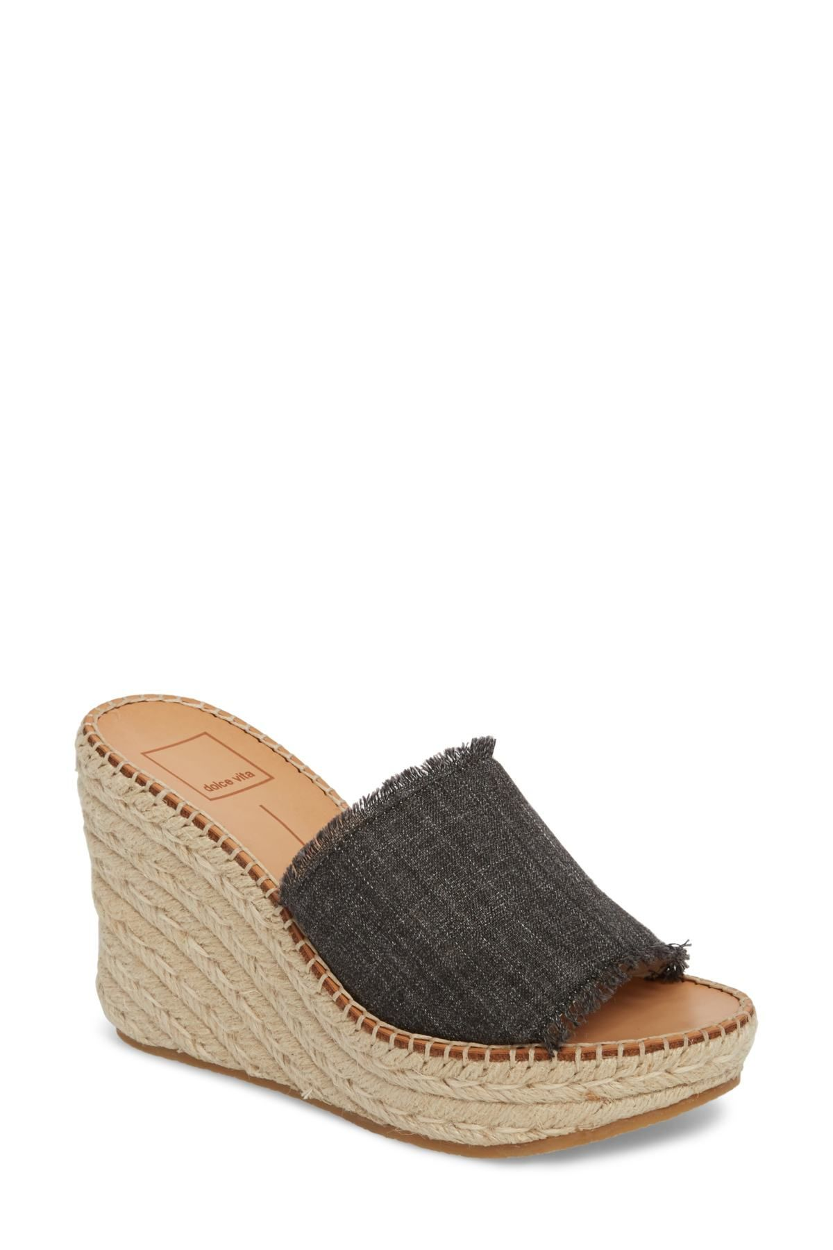 f4a7796f62 Dolce Vita | Pim Platform Wedge Slide in 2019 | Shoes, shoes, and ...