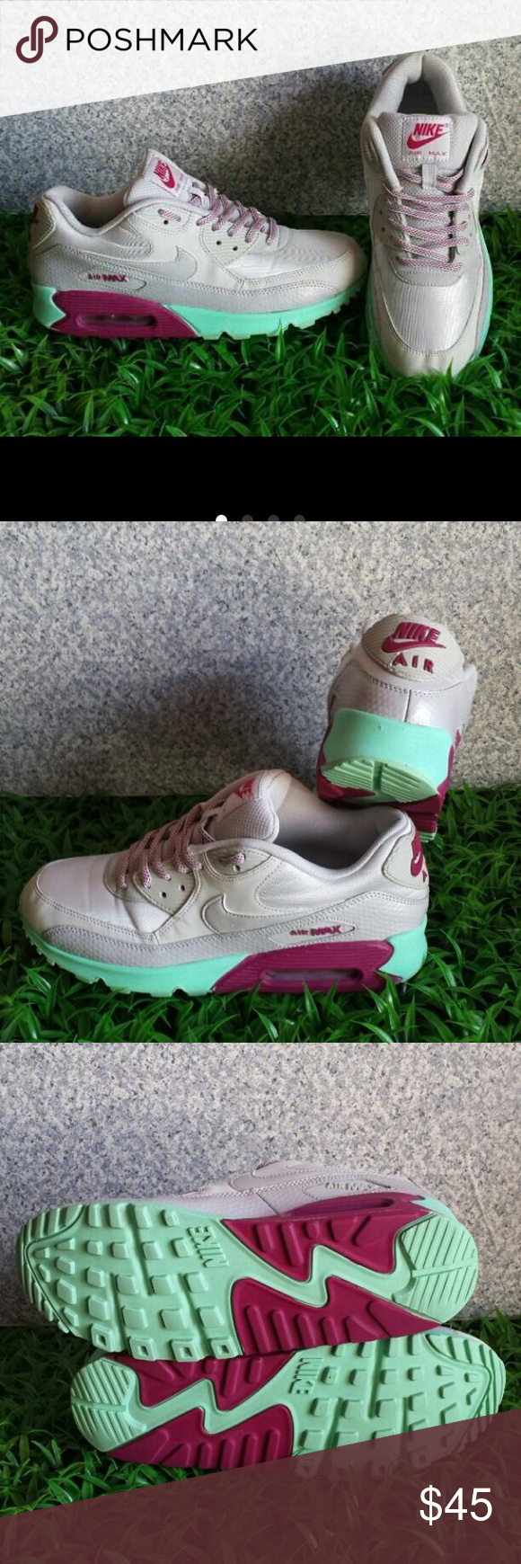 Nike Air Max Nike Air Max Size Woman 10 in good condition Nike Shoes Athletic Shoes