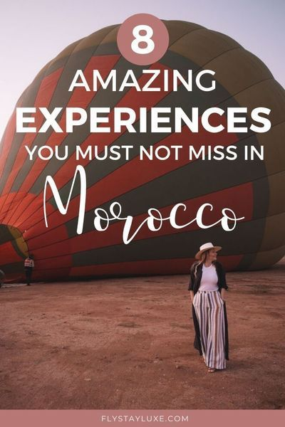 Luxury Experiences Not to Miss in Morocco