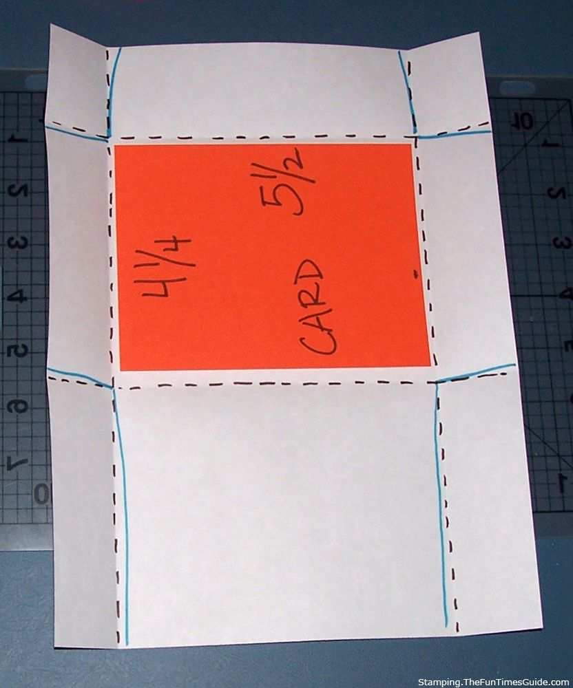 How To Make Envelopes For Your Handmade Cards A Tutorial For Making Envelopes Step By Step How To Make An Envelope Homemade Envelopes Gift Card Envelope