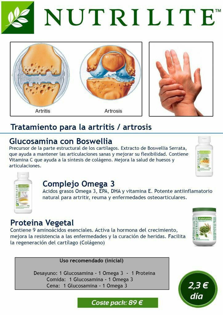 amway artrosis
