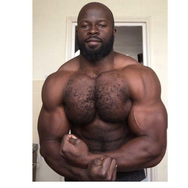 Black find man naked
