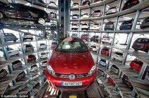 See Here How It Looks The World S Biggest Garage Volkswagen