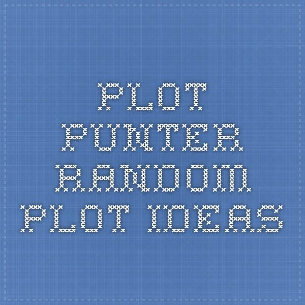 Plot Punter - Random Plot Ideas