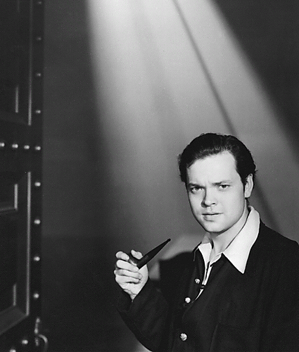 Young Orson With Pipe