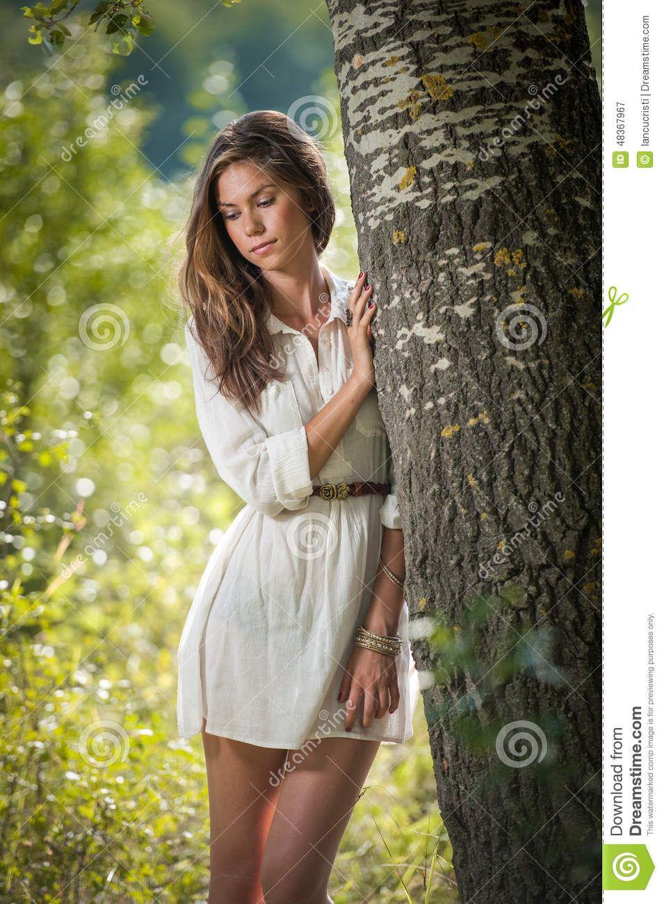 Robe blanche courte ado