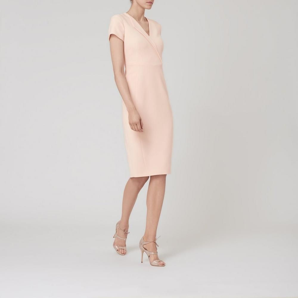 Eline natural dress clothing lkbennett fashion looks