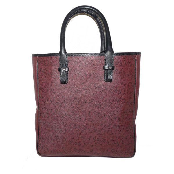 bd0901cf7ef5 armaury sac cabas en toile enduite bordeaux en vente sur le depot vente en  ligne des grandes marques de luxe d occasion - eshop luxe en ligne