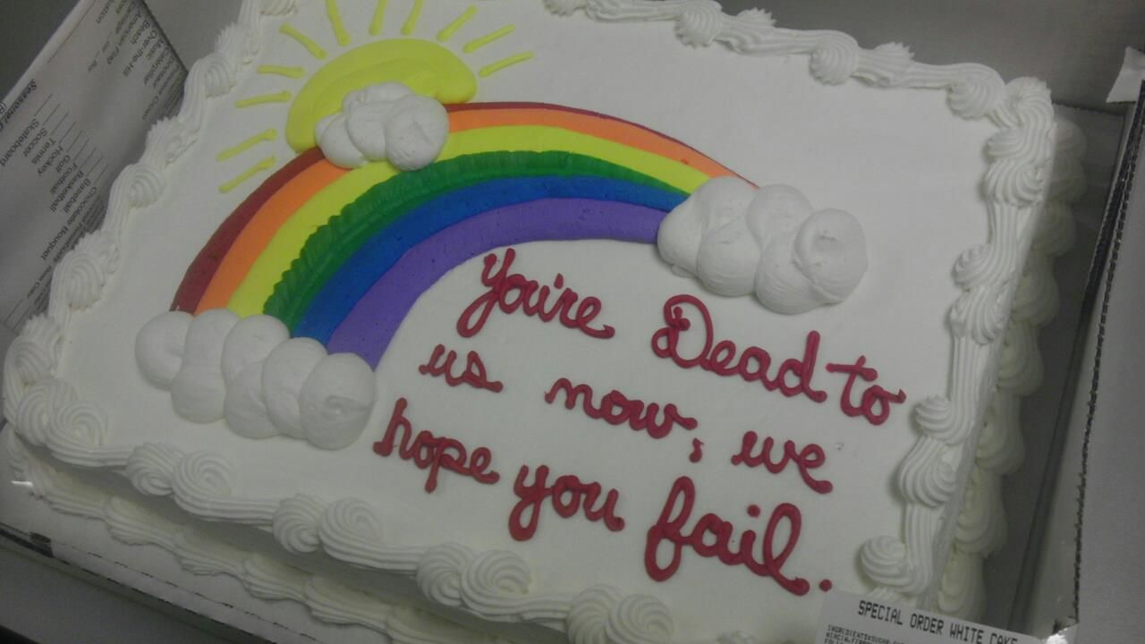Glad i work with such great people goodbye cake funny