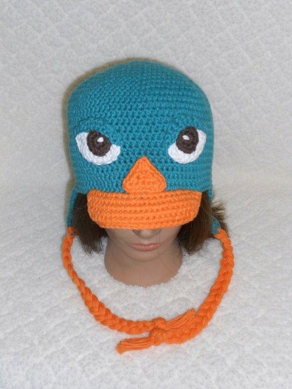 Perry The Platypus Animals Crochet Pinterest Häkeln