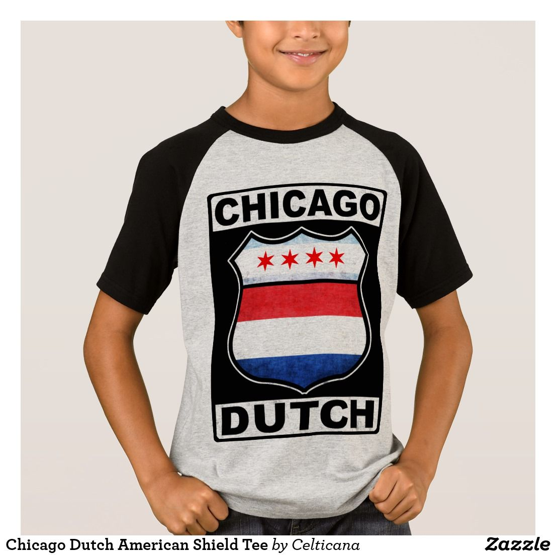 9f8cf2ed20a Chicago Dutch American Shield Tee Shirt. If you are Dutch