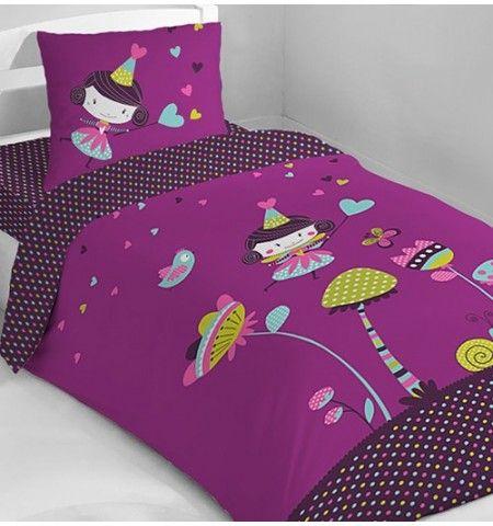 parure de lit enfant f e prunette parures de lit enfant parure de lit parure de lit enfant. Black Bedroom Furniture Sets. Home Design Ideas