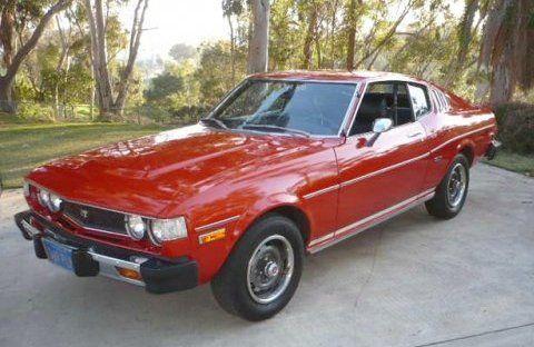 55k-Mile Survivor: Blue-Plate 1976 Toyota Celica