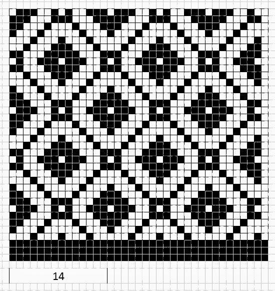geometric pattern: diamonds
