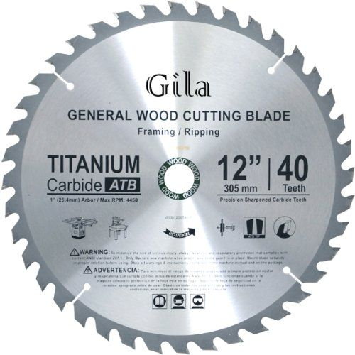 Gilatools 12 Inch 40 Teeth Atb Trim And Finish Carbide Saw Blade Learn More By Visitin Laminate Flooring Hand Scraped Laminate Flooring Circular Saw Blades