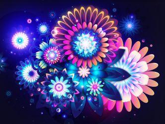Fondo de Escritorio de Flores Hermosas Brillantes