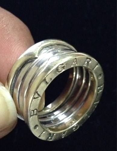 lo último 48355 cab61 anillo bvlgari~bulgari oro solido 14k kt 10 gramos~talla 6 ...