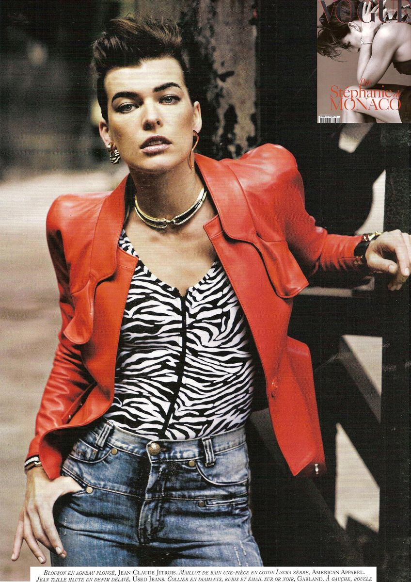 Linda Evangelista in Jitrois for Vogue Paris 2011. The