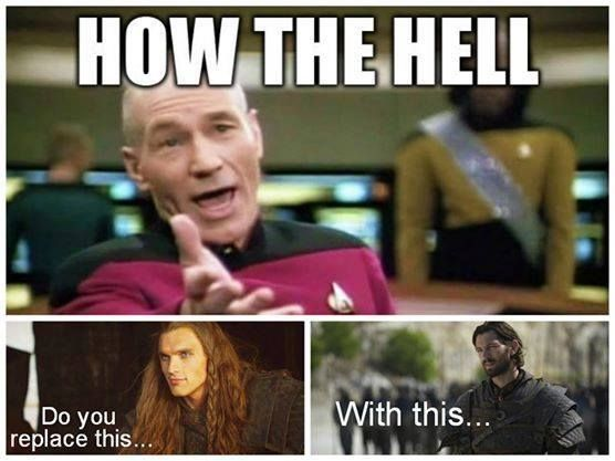 Game of Thrones S4 funny memes..Been saying this ALL season!  It's freakin' Liam from Nashville for crying out loud! gag!
