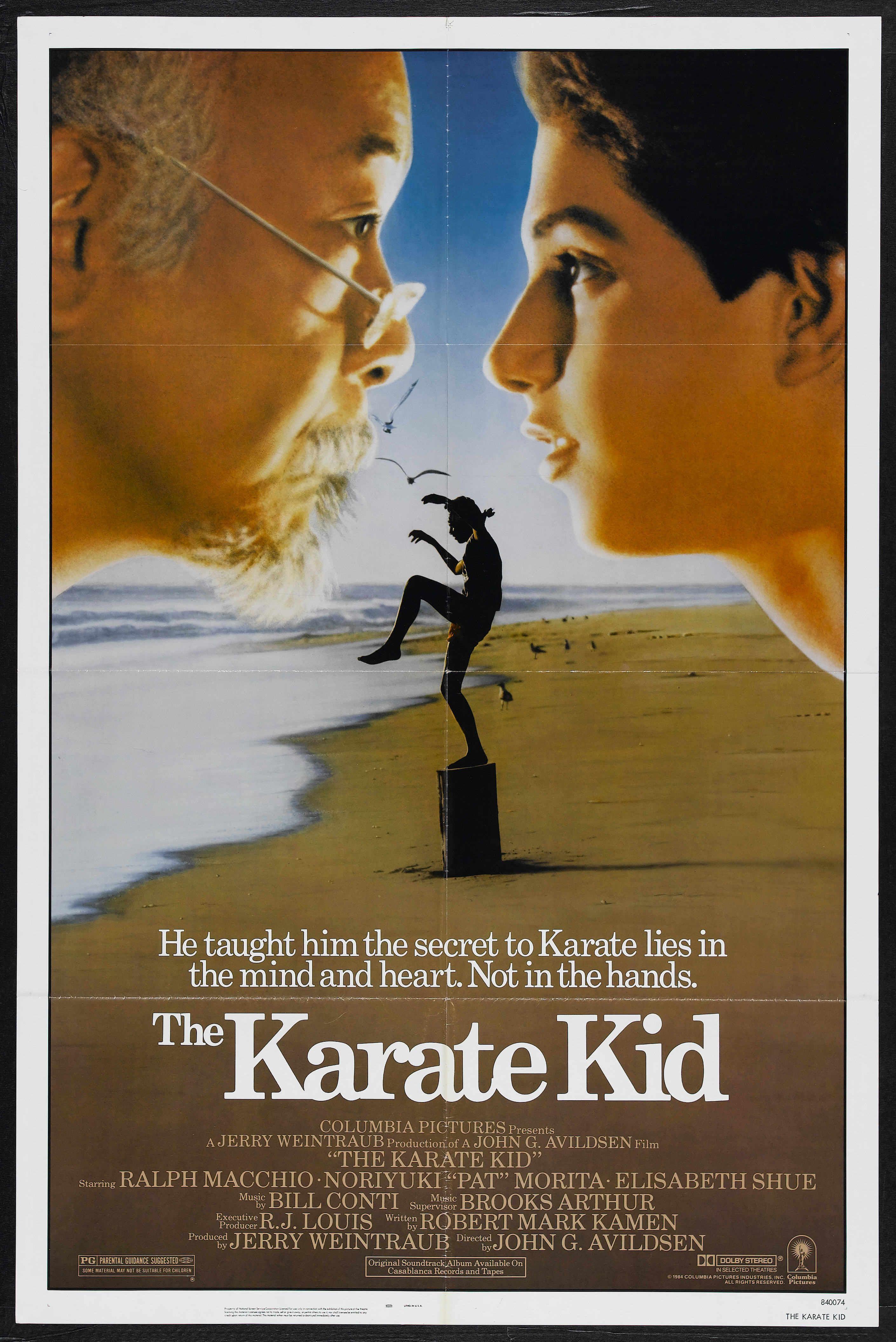 Una Pagina De Cine 1984 Karate Kid Ing 01 Jpg Kids Movie Poster Karate Kid Movie Kid Movies
