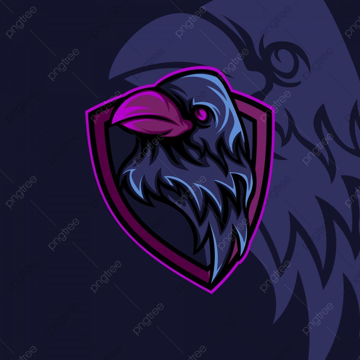 Crow Bird Esport Gaming Mascot, Brand Mark, Branding, Design PNG ...