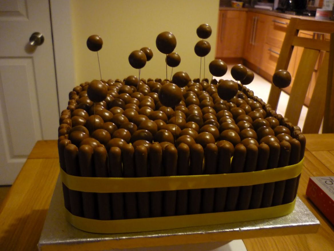 Top 10 Best Chocolate Fingers Cake Recipes Birthday cake ideas