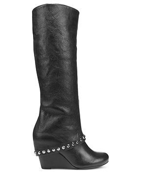 BCBGeneration Shoes, Walla Tall Wedge Boots Shoes Macy's